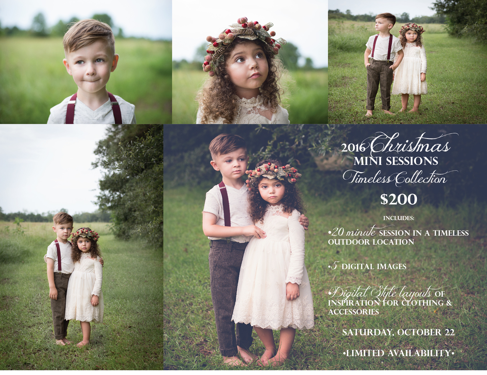Christmas Mini Session Northshore Covington Photographer