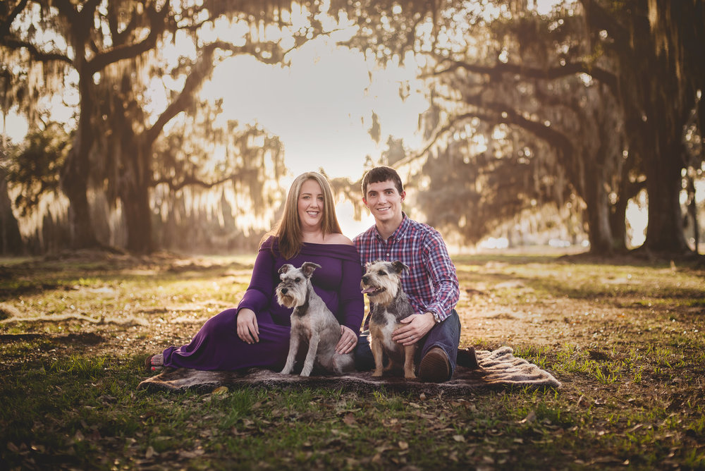 Maternity PhotographerCovington LA Mandeville LA Madisonville LA Birth Photographer Belly Pic Family Dog Photo Pet Photography