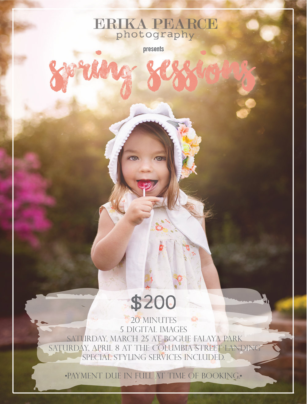 Easter Mini Session Spring Mini Session Children Photography Covington LA Mandeville LA Northshore New Orleans kid pic