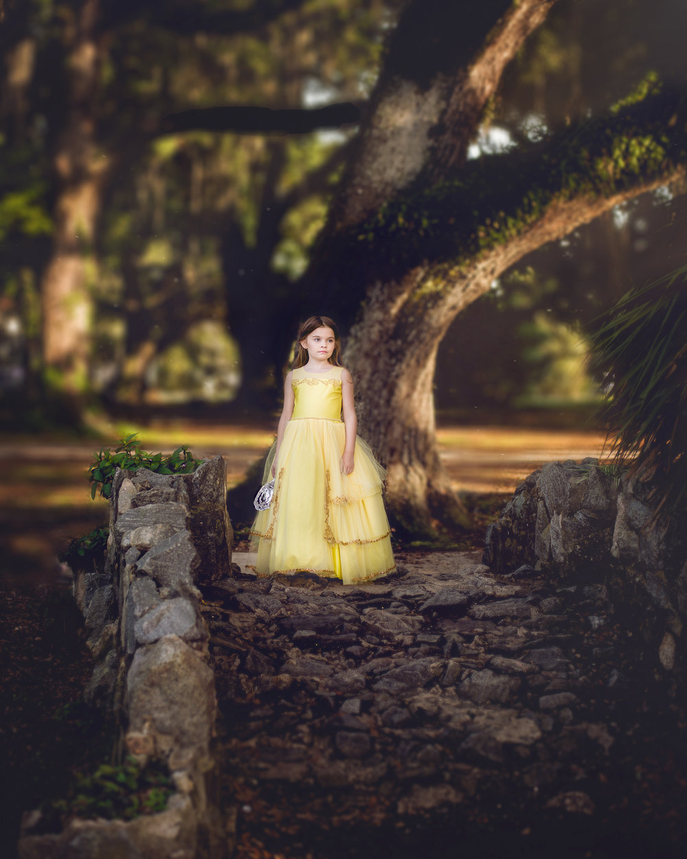 Family Photographer Covington LA Mandeville LA New Orleans Child Photographer Princess Belle