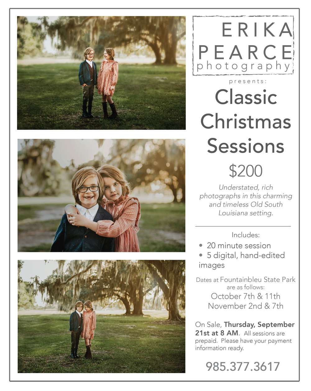 children photography christmas mini session christmas covington la mandeville la northshore madisonville photographer