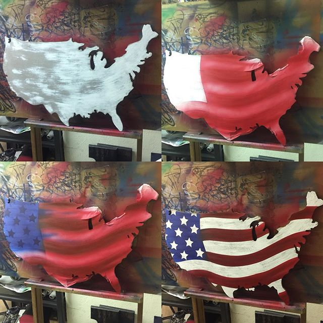 A little project we are working on. #airbrush #paint #godlygifted #praisethelord #btldrawings #btldairbrush #usa