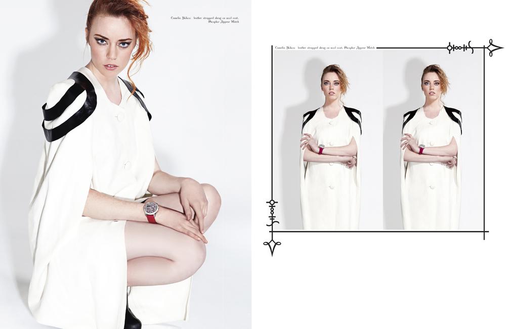Photographer and Retoucher  Dlist Magazine April 2011