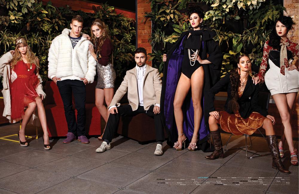 Photographer and Retoucher  Dlist Magazine Dec 2011