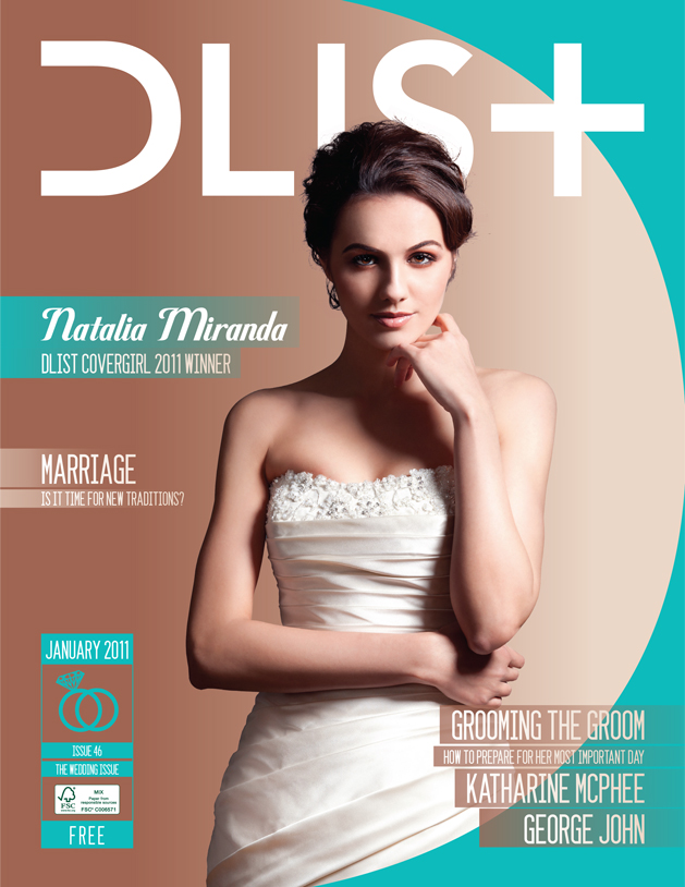 Photographer for Dlist magazine Cover Girl winner Feb 2010  Creative Director: Brandon Palma