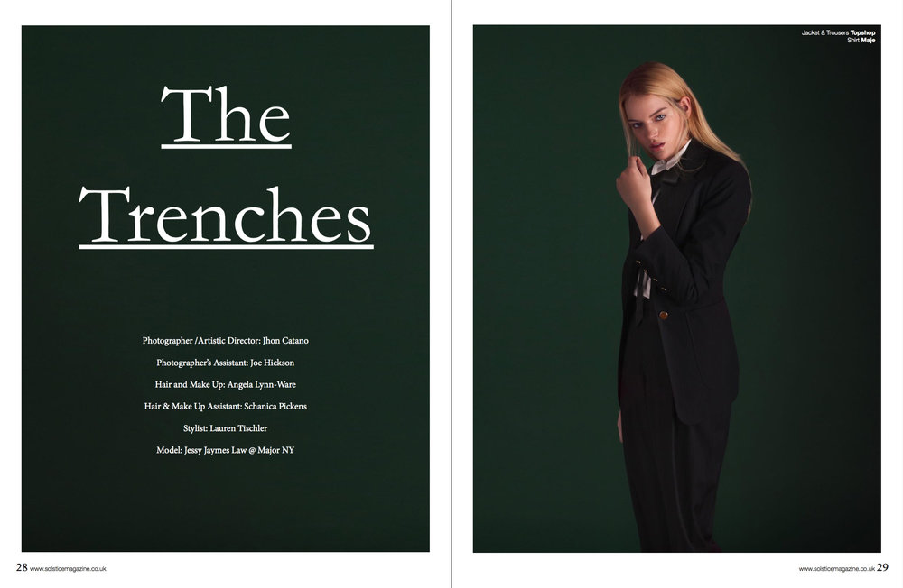 The Trenches for Solstice Magazine