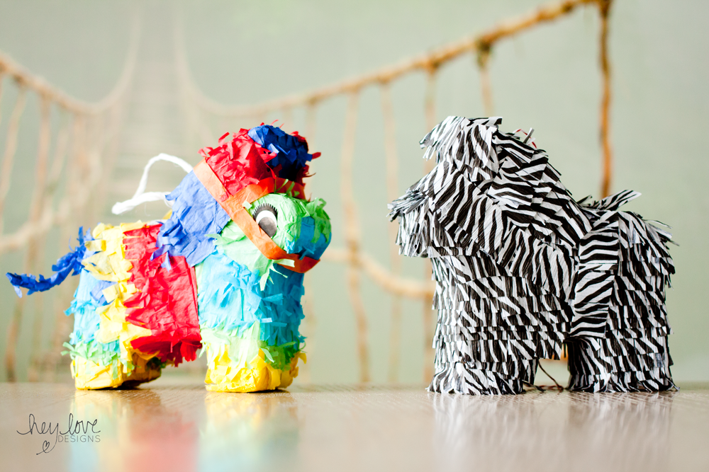 How to Make a Miniature Piñata | Hey Love Designs