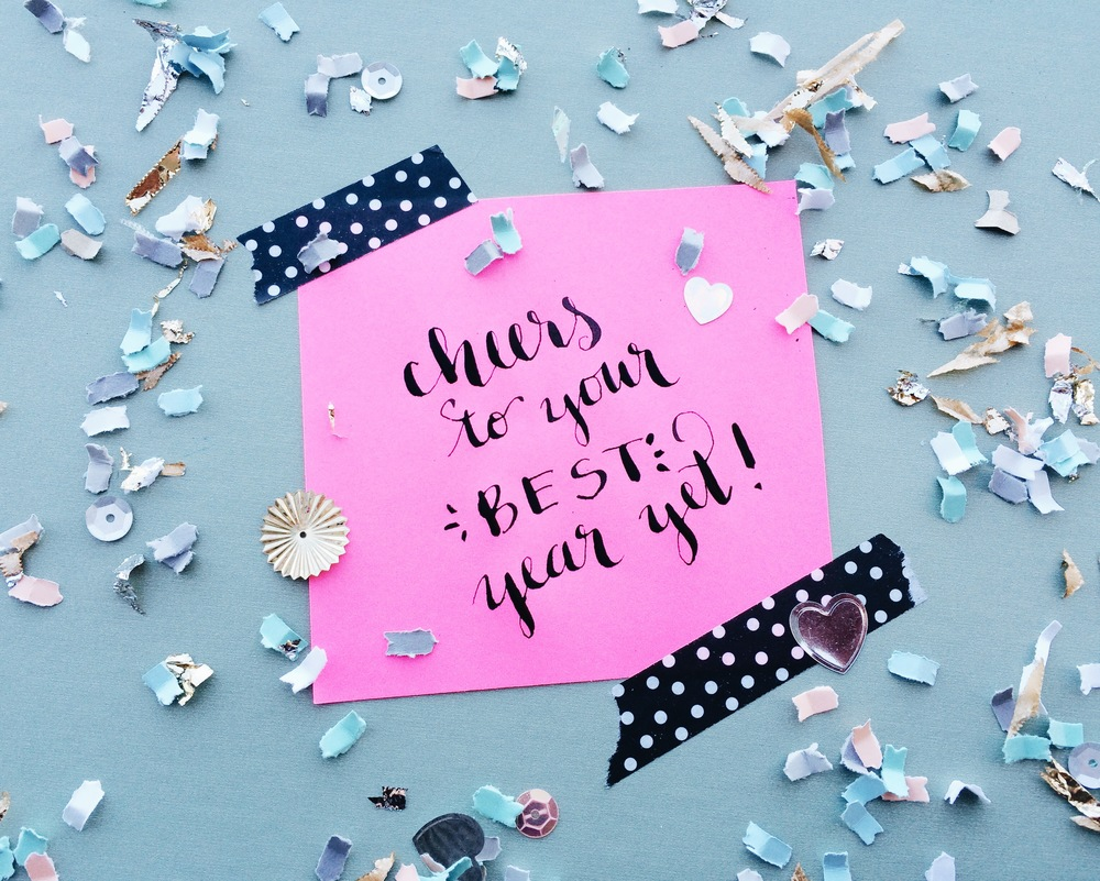 Cheers to Your Best Year Yet! | Hey Love Designs