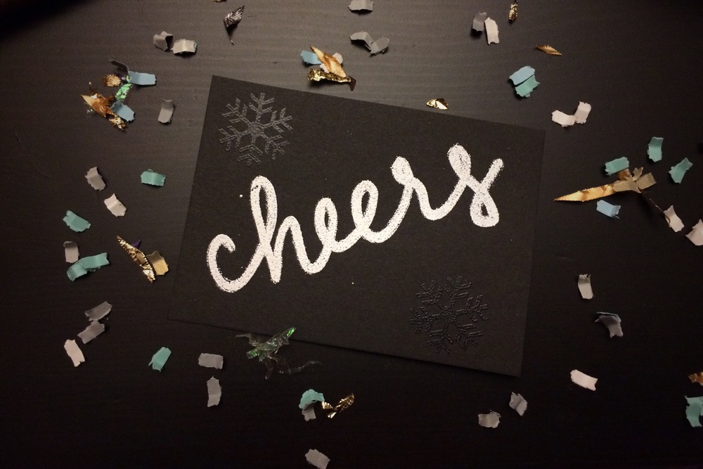 Cheers Card | Hey Love Designs