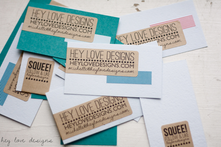 New business cards hey love designs new business cards hey love designs colourmoves Choice Image
