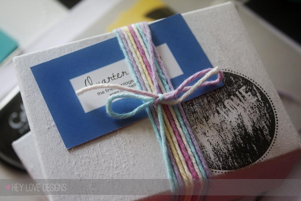 Quarter Life Business cards designed by Hey Love Designs