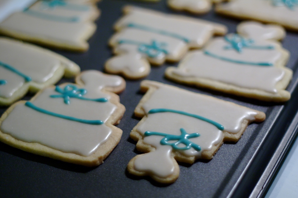 Vegan Wedding Cookies from Hey Love Designs