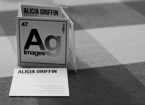 Ag Images Square Business Cards by Hey Love Designs