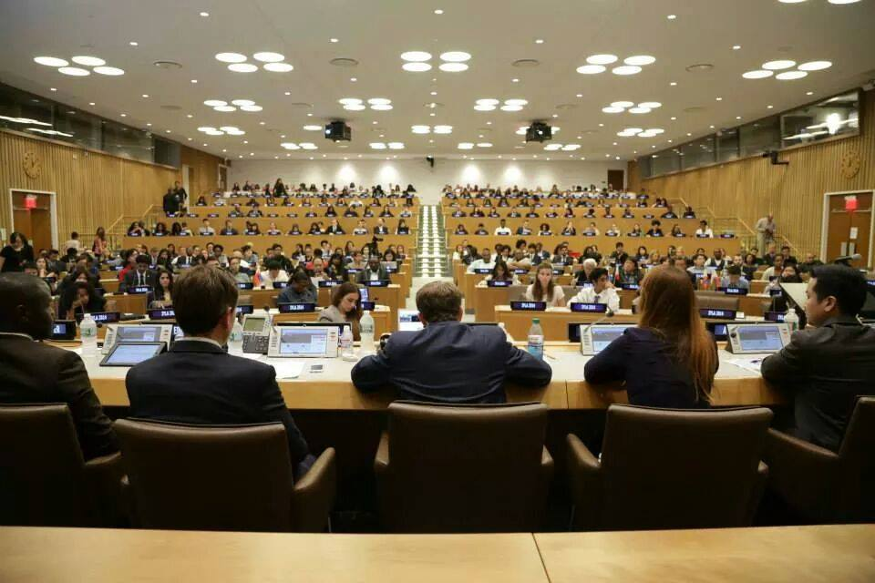 Me leading a panel at the United Nations on Social Entrepreneurship