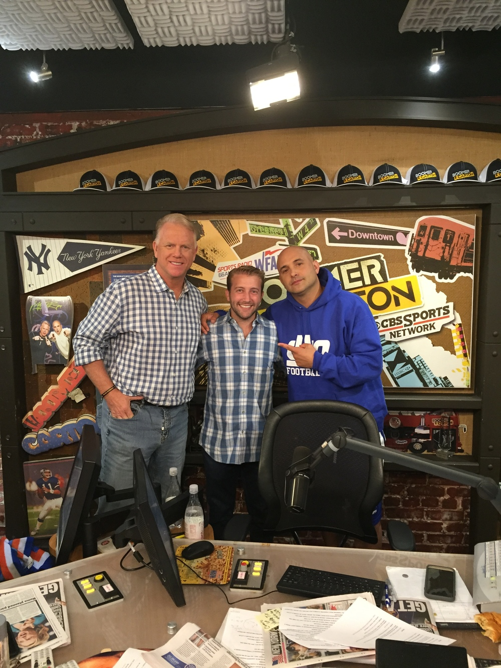 Hanging With Boomer Esiason and Craig Carton