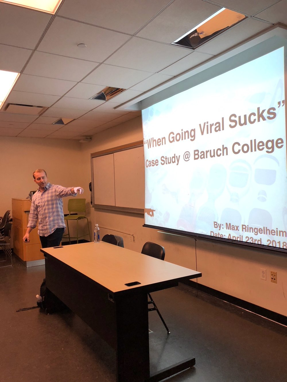 Presenting at Baruch College
