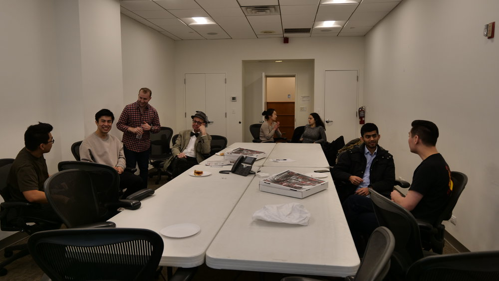 Interactive Workshop at Fordham University