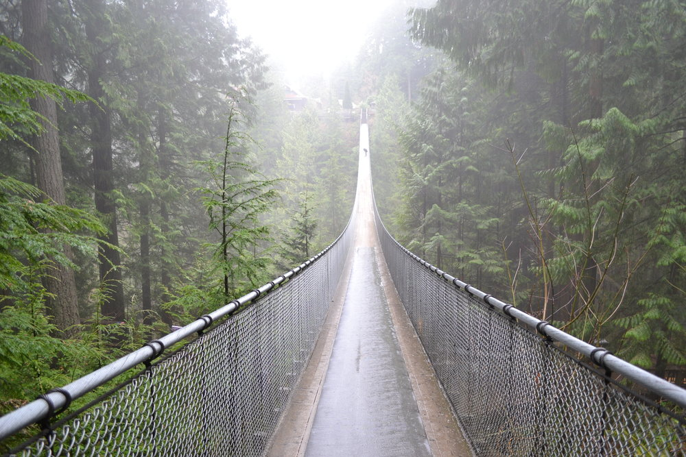 Capilano Suspension Bridge, Vancouver Canada | Photo: Wikimedia Commons