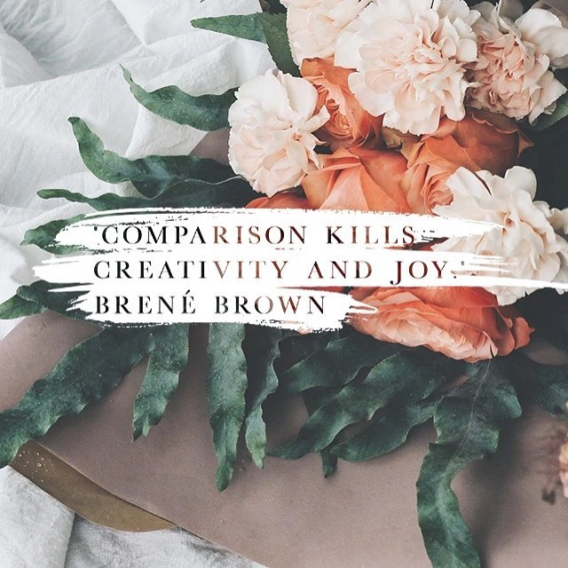 It sure does.  Comparison is comprise and a thief not just of joy but your voice as well.  Don't settle for being like anyone except the best version of your self living out what you were created for 📷: @dvoapp • #flourishcreatives #courageouscreativity #purposeoverprofit #yourstorymatters #brandsthatmatter #socialentrepreneurship #creativepreneur #progressnotperfection #smallbusinessowner #risingtidesociety #bosslady #savvybusinessowner #calledtobecreative #ohwowyes #creativityfound #thatsdarling #pursuepretty #communityovercompetition #lovelysquares #cylsquad #cylcollective #togetherweflourish #creativepurpose