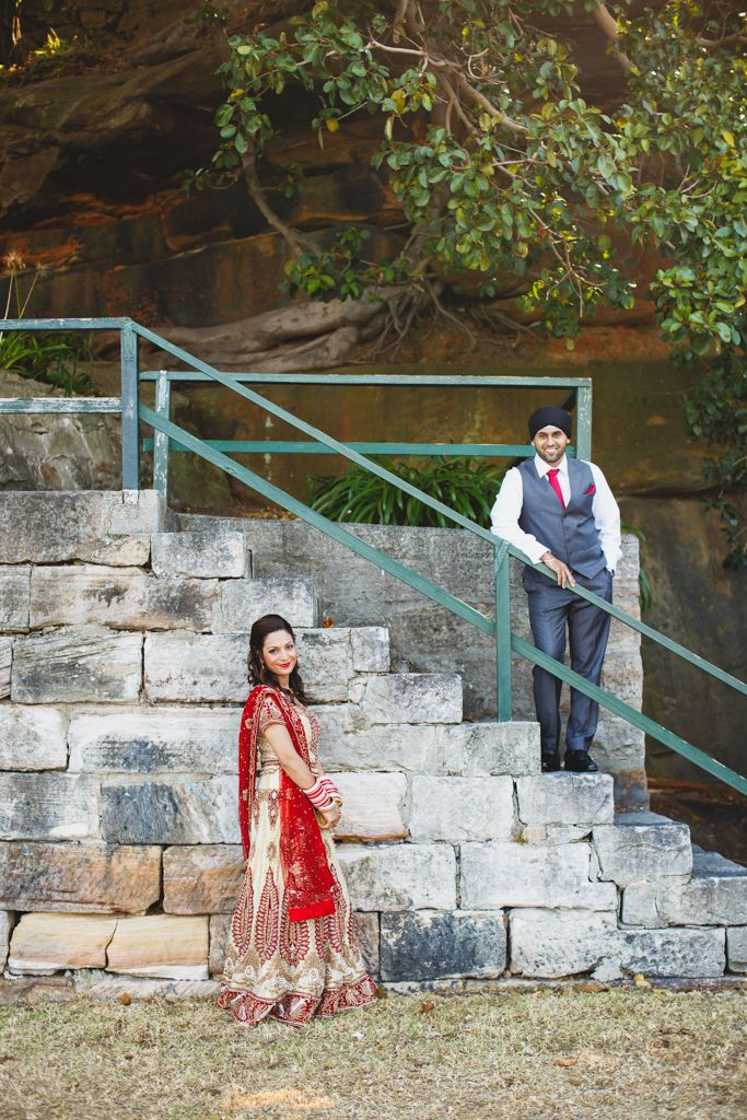 Preet & Sharon - Blues Point Reserve, Sydney