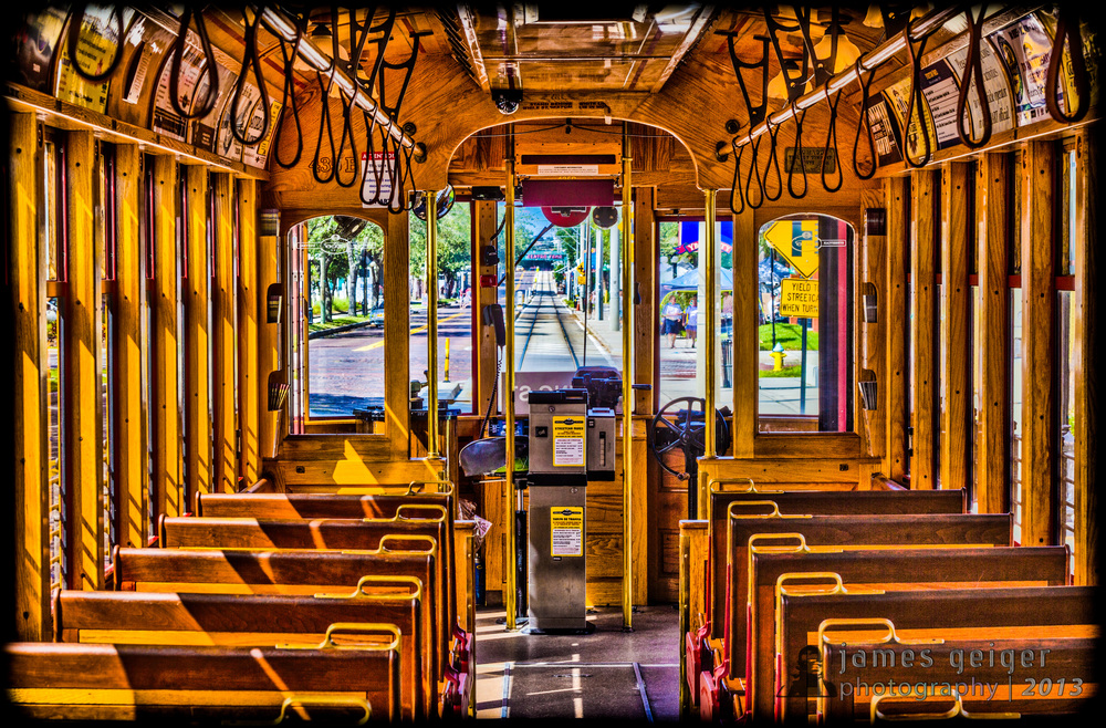 Ybor Trolly Photo