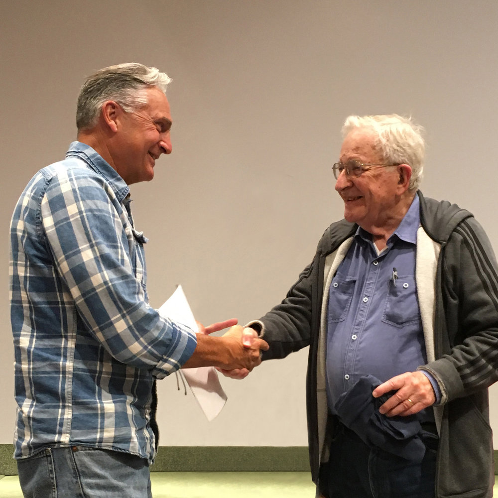 Joe was honored to spend 7 weeks learning from one of the towering intellects of our time - Noam Chomsky.