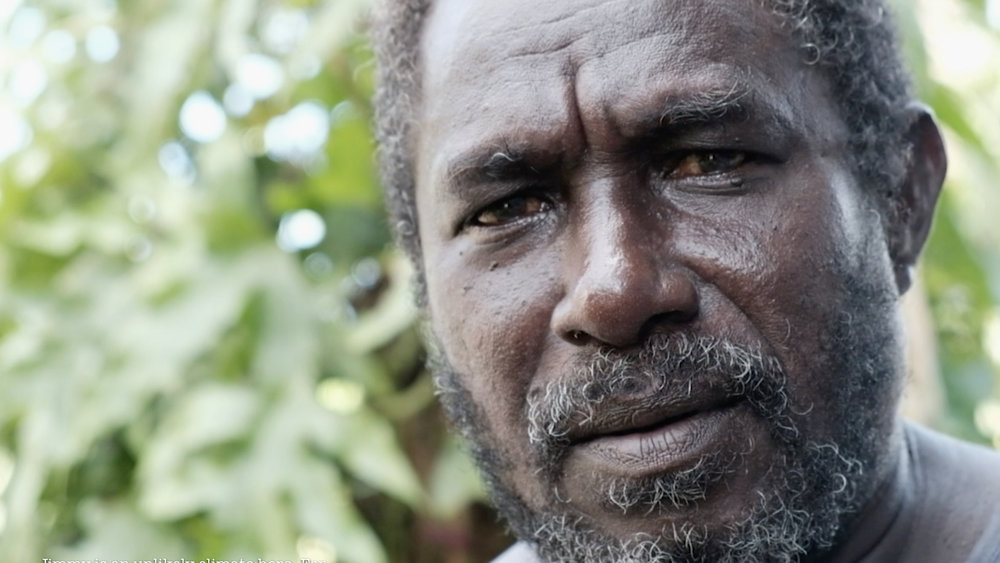 Jimmy is an unlikely climate hero. For years he ran a shop selling imported food with limited nutritional value. Because of climate change he says his community needs to go back to traditional ways and grow their own food.