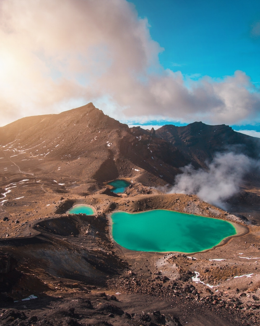 Tongariro National Park, New Zealand   |  Photo by  Laura Smetsers