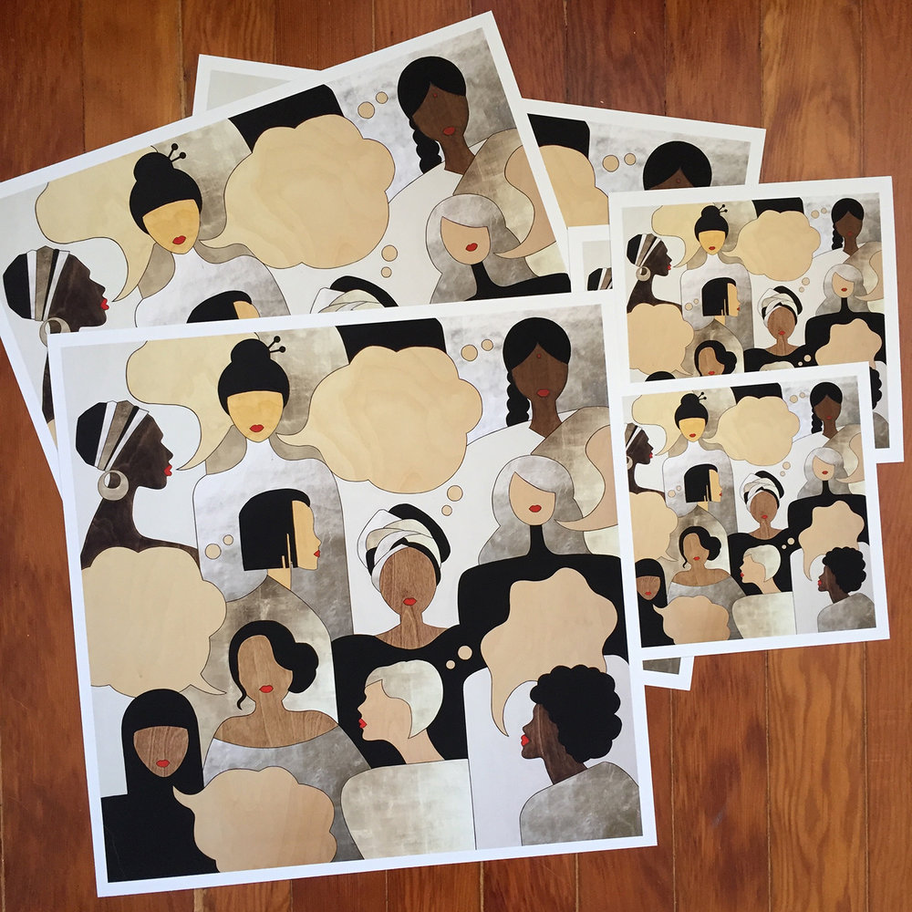 Silenced Voices of Everyday Sheroes – Prints