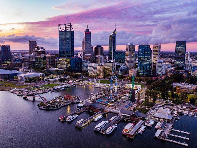 Obligatory photo of Perth CBD 👌