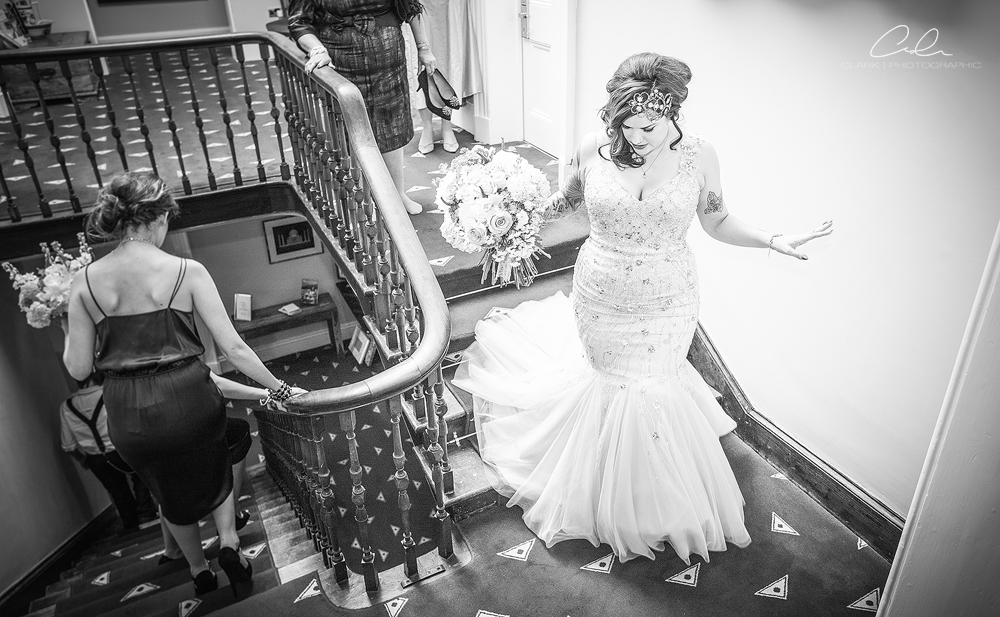 bride walk shottle hall Derby Wedding Photographer.jpg