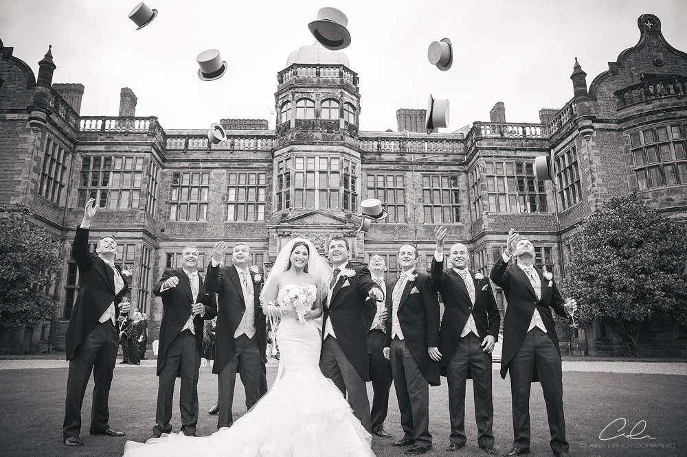 hat throw ingestre hall Derby Wedding Photographer.jpg
