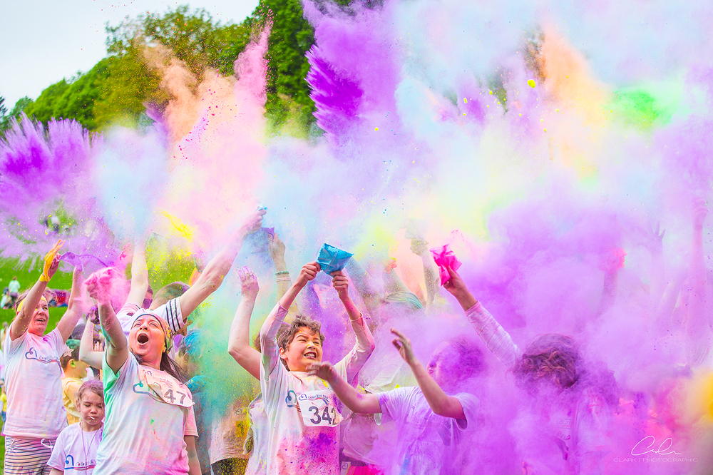 colour blast dash paint Derby UK Event Photography Clark Photographic.jpg