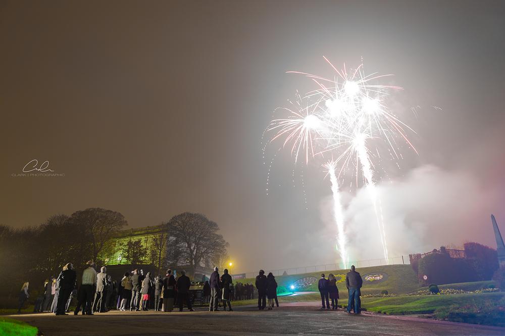 nottingham castle fireworks Derby UK Event Photography Clark Photographic.jpg