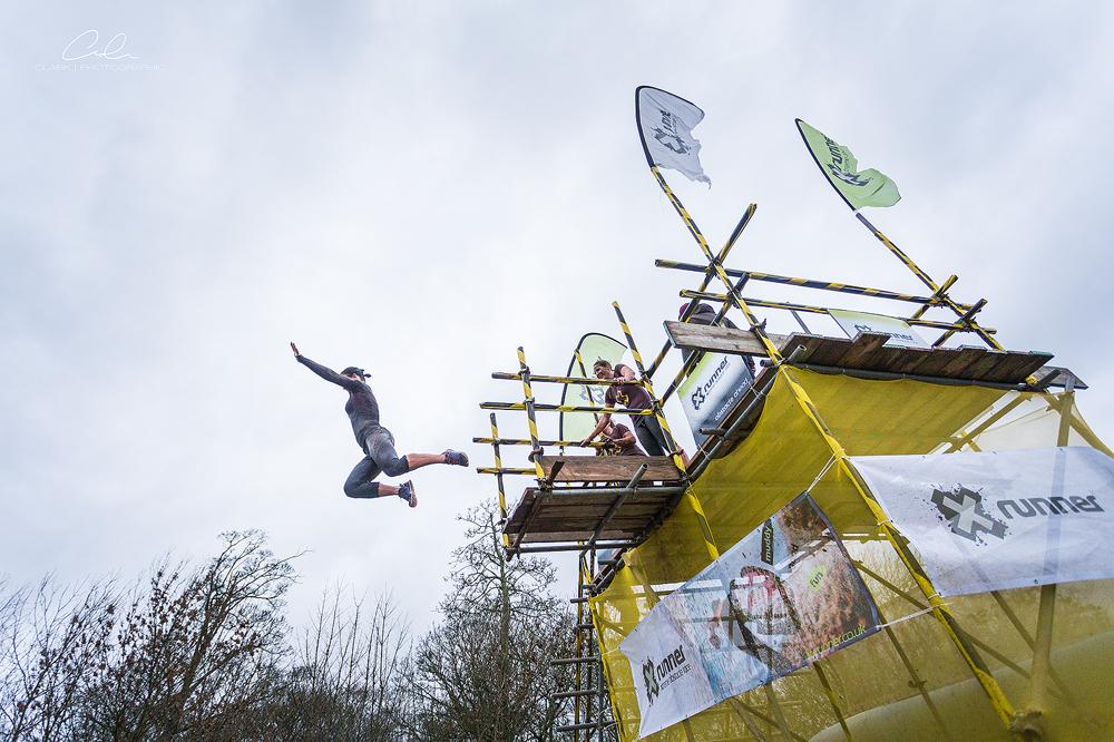donnington winter warrior jump xrunner Derby UK Event Photography Clark Photographic.jpg