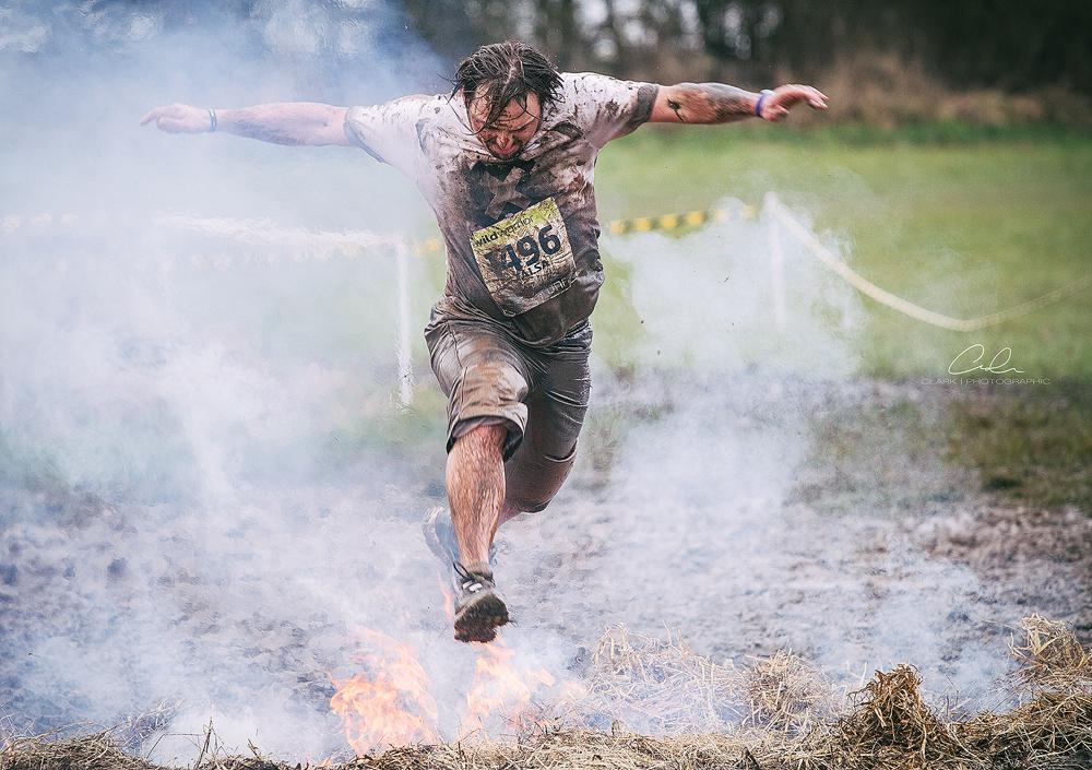 fire jump xrunner Derby UK Event Photography Clark Photographic.jpg