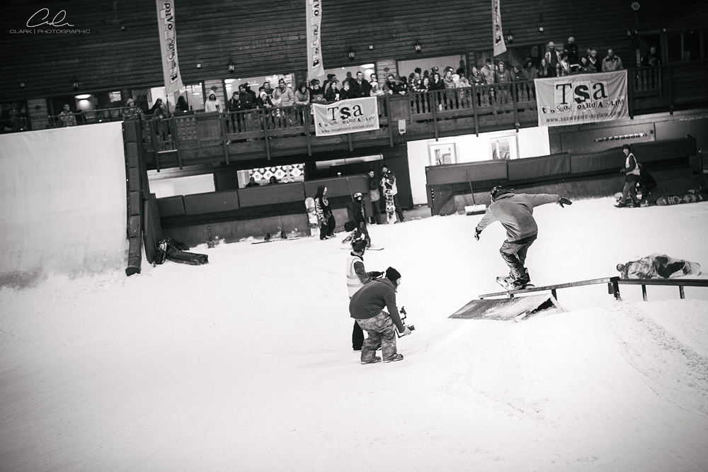 The Big Bang Snowboard Event, Tamworth Snowdome.