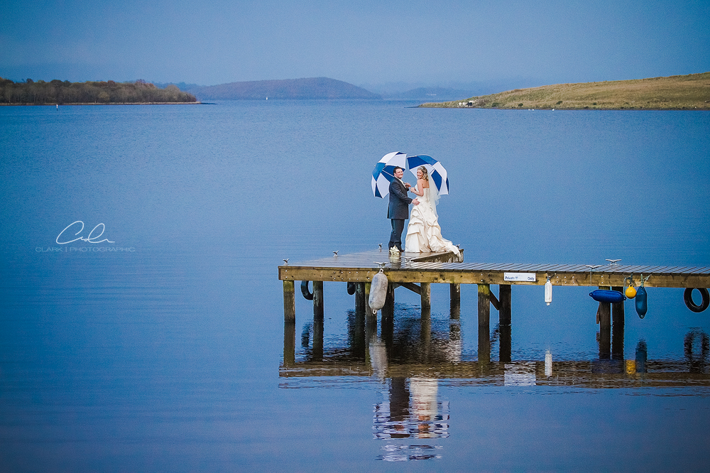 The Wedding of Marc & Emma, Lusty Beg Island, Northern Ireland.