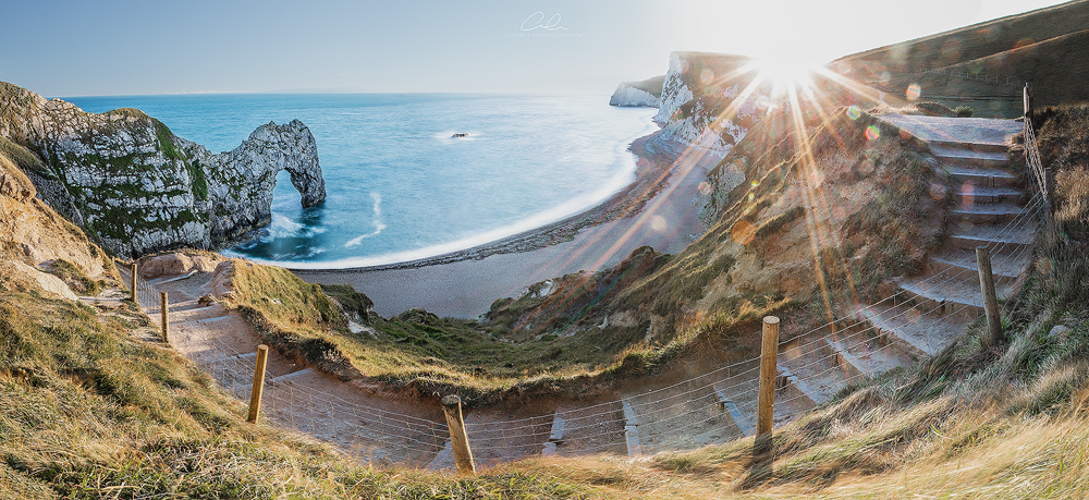 durdle door pano landscape photography derby fine art clark photographic.jpg