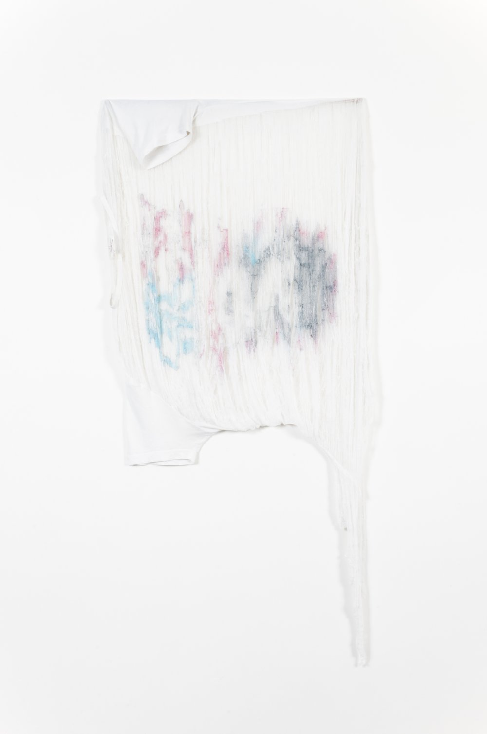 USA t-shirt, recycled mixed cotton tee, 2014.