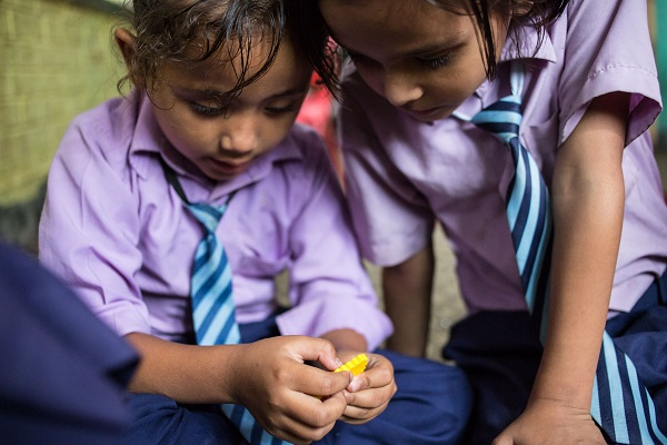 The Joy of Numbers in Nepalese Primary school