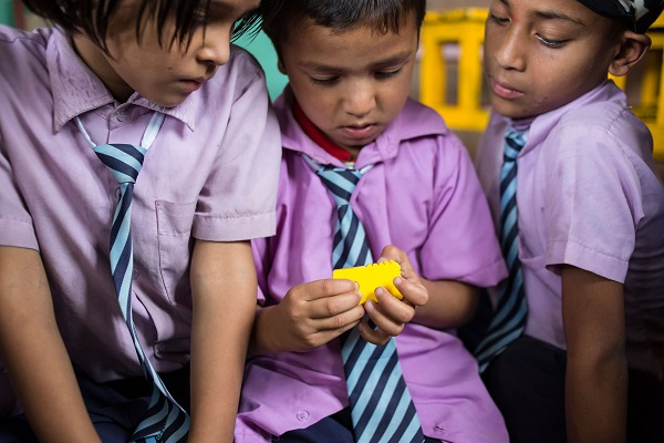 The Joy of numbers approved by Nepalese pupils