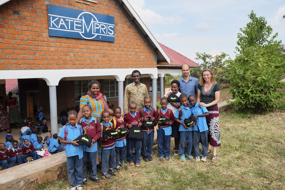 Newmero donation to Tanzanian School