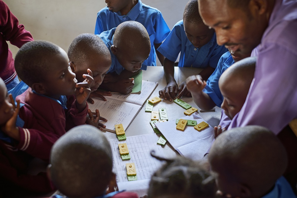 The Joy of Numbers practiced in Tanzanian school