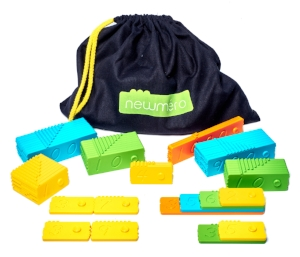 The newmero bricks are educational toys to learn fun math