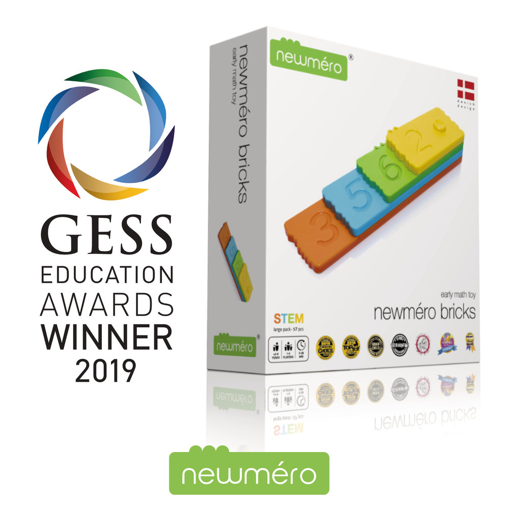 newmero bricks winner of GESS Award 2019