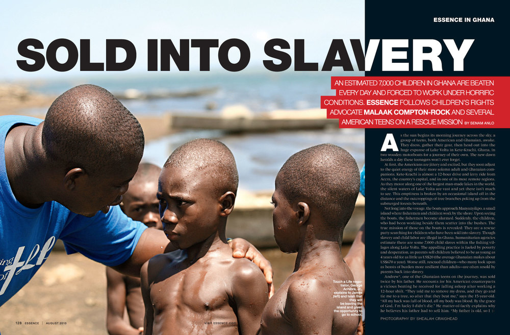 Children Sold Into Slavery in Ghana