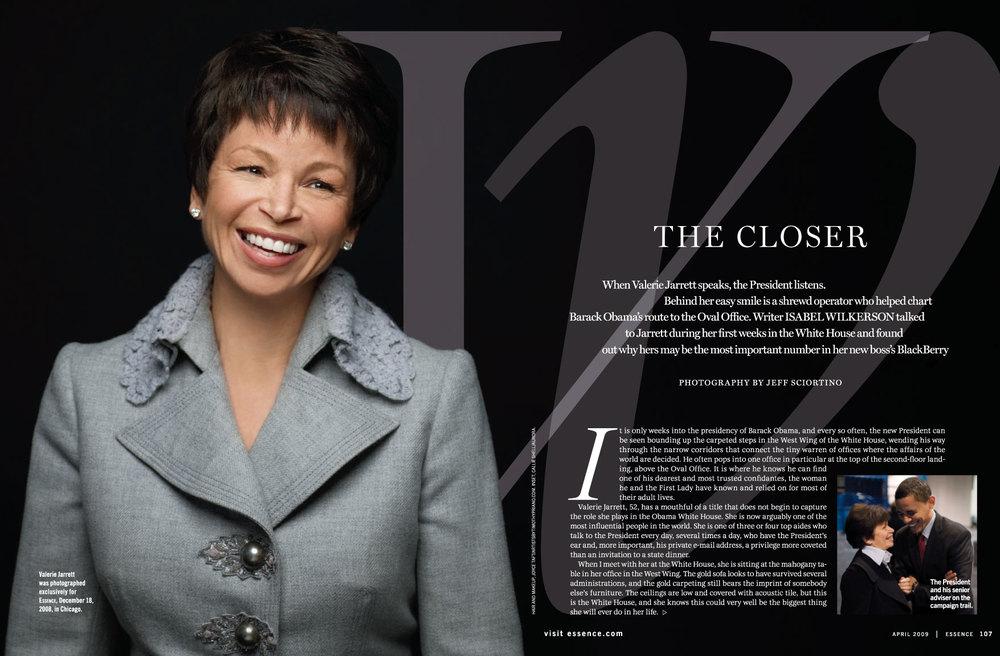 Presidential Advisor Valerie Jarrett