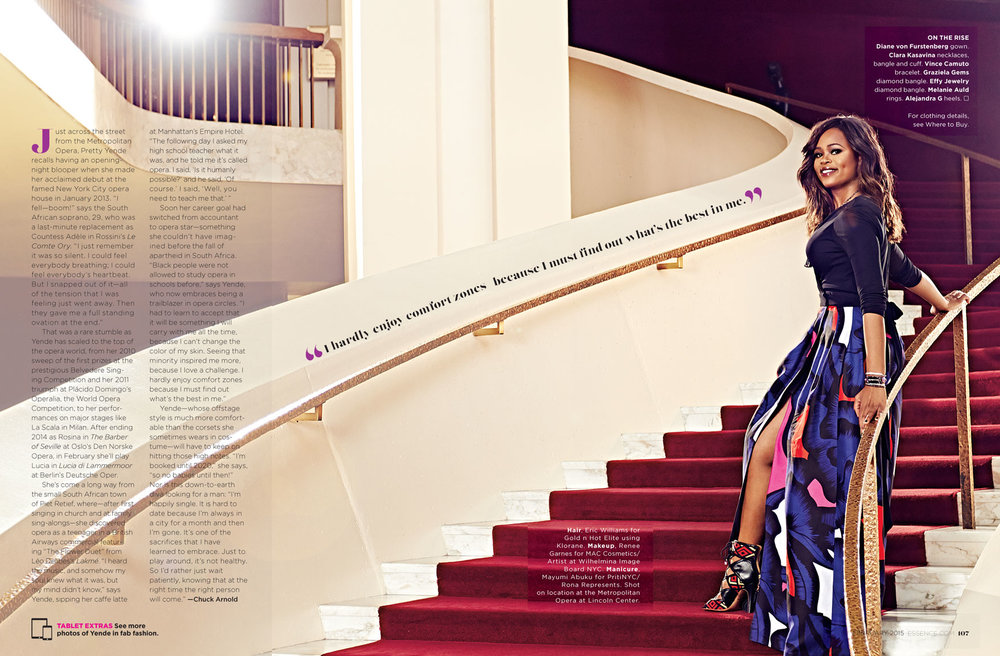 Opera Singer Pretty Yende