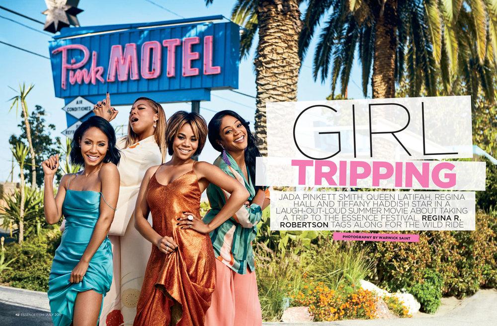 Jada Pinkett Smith, Queen Latifah, Regina Hall, Tiffany Haddish